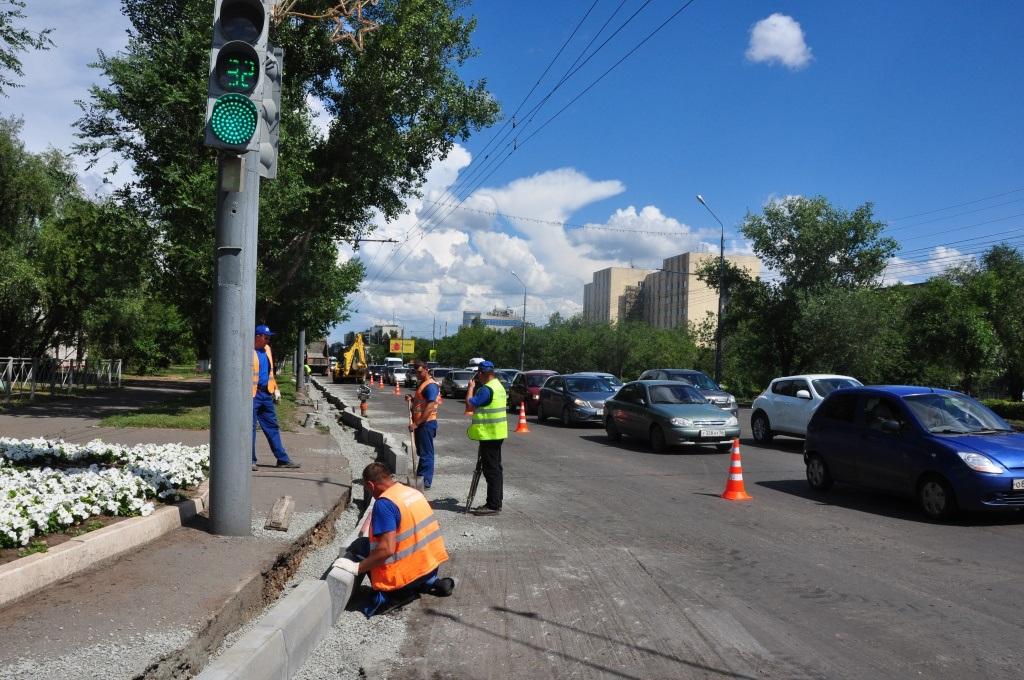 Информация для автолюбителей: Где ведутся дорожные работы в Оренбурге