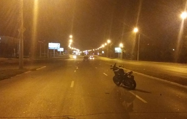 Авария на Терешковой: пешехода сбил мотоцикл, затем автомобиль