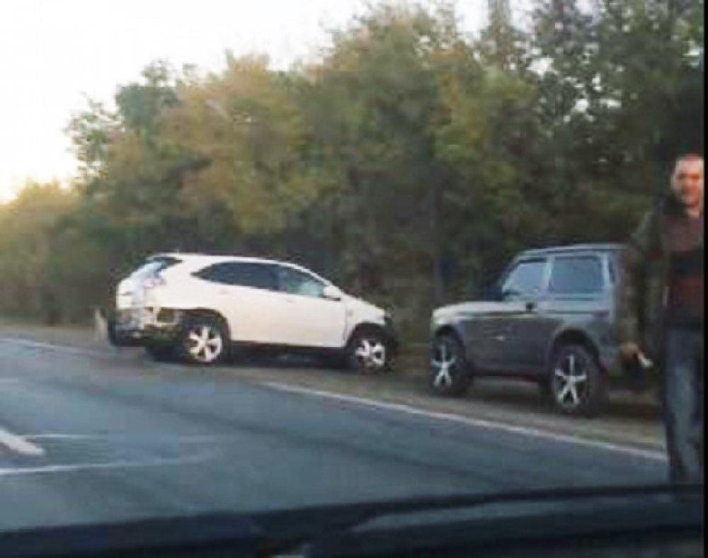 На трассе Оренбург-Илек в районе Авиагородка произошло ДТП