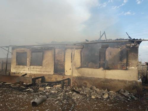 В Саракташском районе курение привело к пожару с погибшими