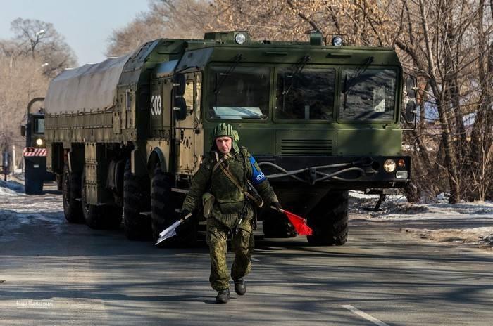 """Ракетные комплексы """"Искандер-М"""" подняты по тревоге"""