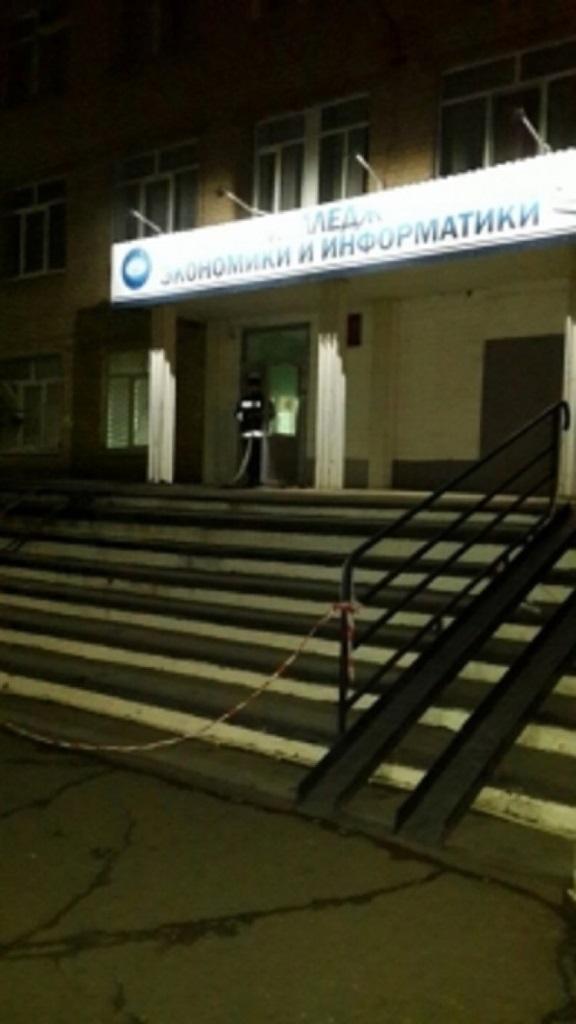 Ночью на Чкалова горел колледж статистики, экономики и информатики